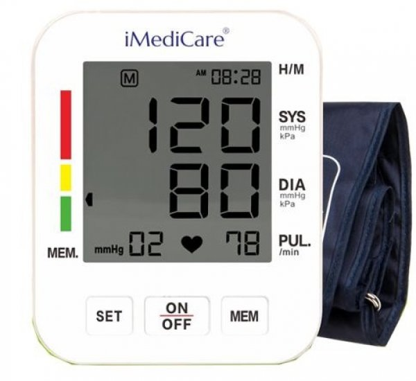 Digital Blood Pressure Monitor iMediCare iBPM-6S